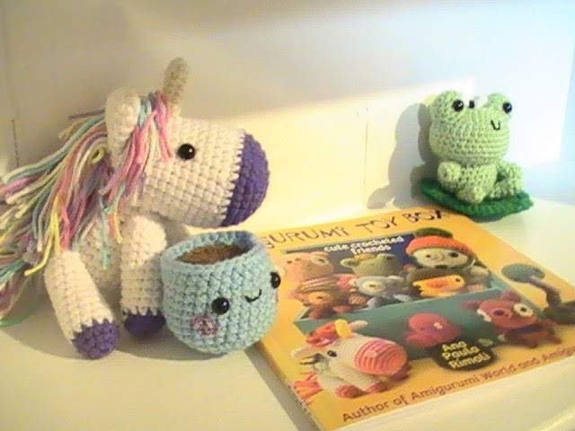 Book Review - Amigurumi Toy Box