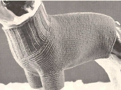 Crochet Dog Sweater Pattern -  Ideas
