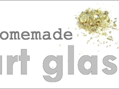DIY Art Glass Tutorial