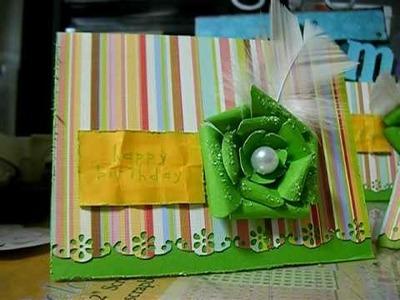 DIY cards, flowers & stick pins