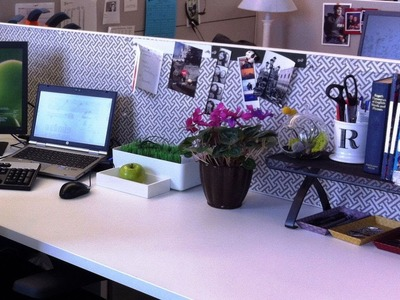 DIY Cubicle decorating ideas