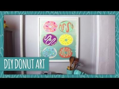 DIY Donut Wall Art - HGTV Handmade