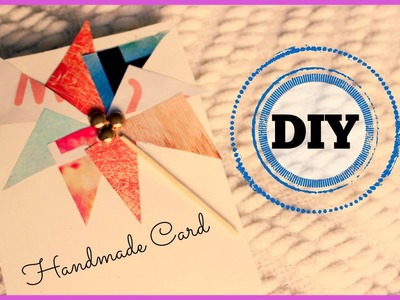 DIY: Easy Handmade Card (Birthdays, Parties, Graduation, etc)