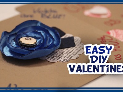 DIY Easy Valentines - Whitney Crafts