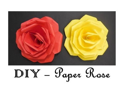 DIY - How to make Paper Roses