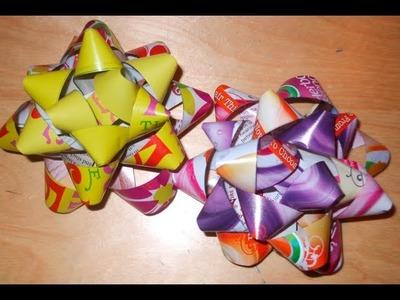 DIY: Magazine Paper Bows ♡ Theeasydiy #Crafty