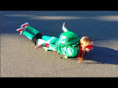DIY Ninja Turtle Halloween Costume