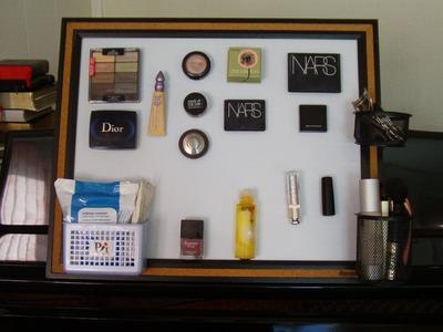 DIY Organization: Magnetic Board!