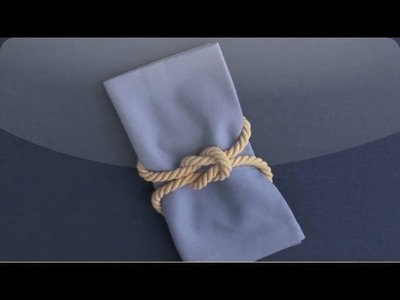 DIY Square Knot Napkin Ring - Martha Stewart Weddings
