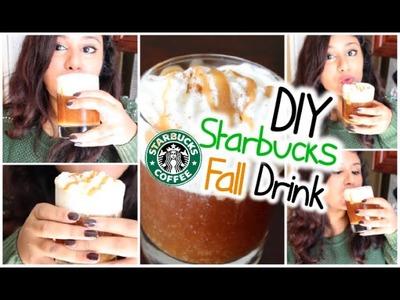 DIY Starbucks Fall Drink: Caramel Apple Spice! + DIY Cinnamon Dolce Syrup 2014