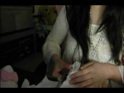 [DIY] Vintage Lace Pouch