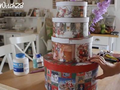 DIY: Wedding Cake Card Box - Torta Porta Buste FAI DA TE