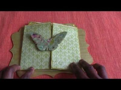Donna's Gatefold Envelope  Pocket Page Demo