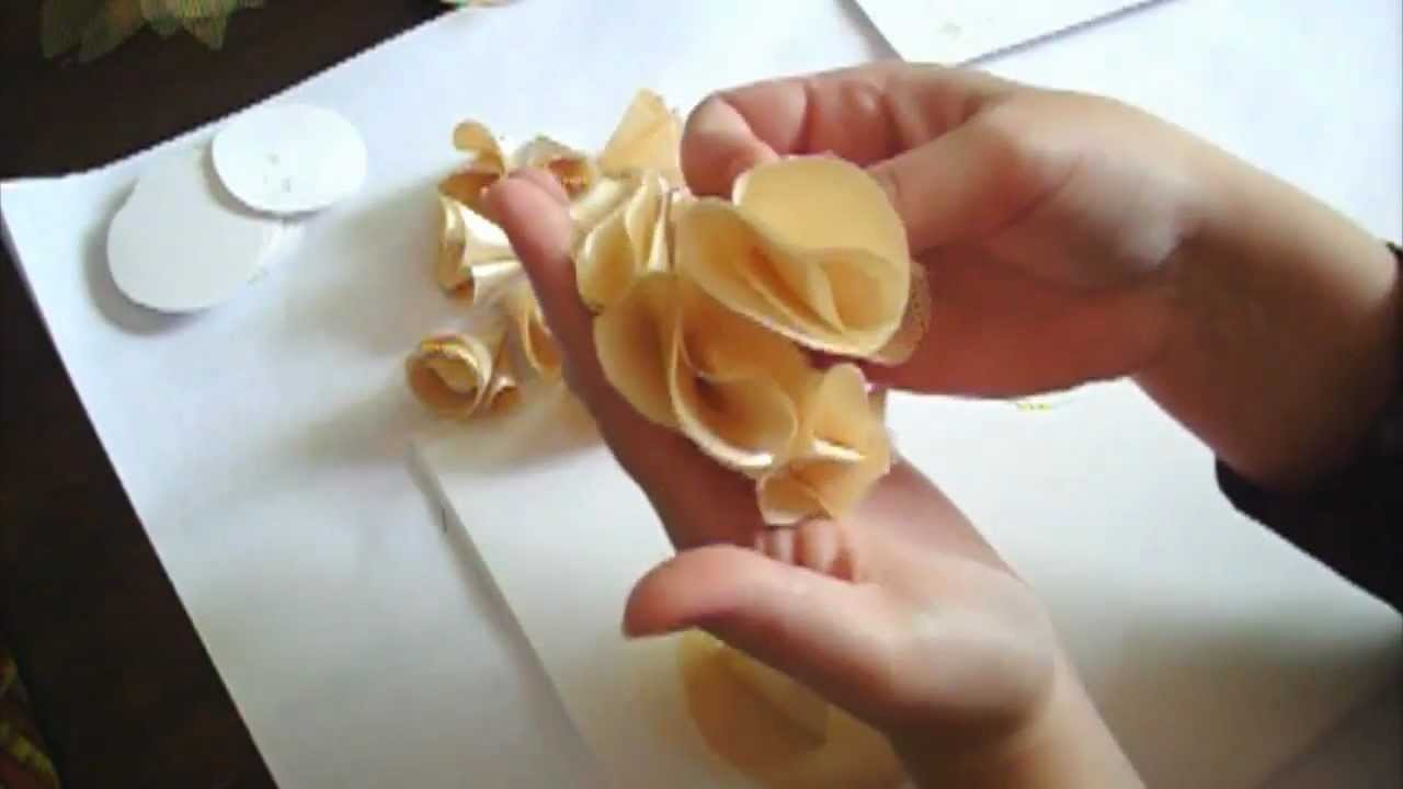 Flower Making Tutorial Series  - Day 2