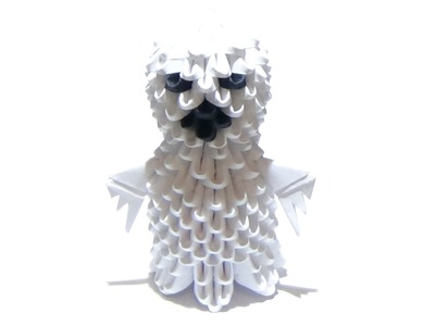 (Halloween) How To Make a 3D Origami Ghost