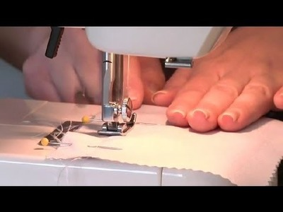 How Do I Finish the Seams When Sewing a Dress Out of Satin or .  : Sewing, Sketching & Fabric Care