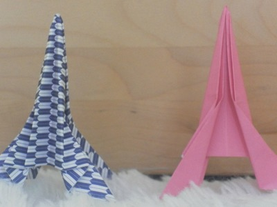 How to Fold an Origami Eiffel Tower (easy)