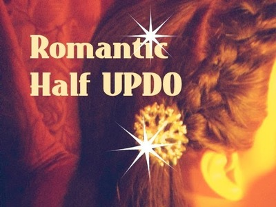 ♥ How to: French Braid Half up Hairstyle Braided Hairstyles & DIY Hair accessory Tutorial