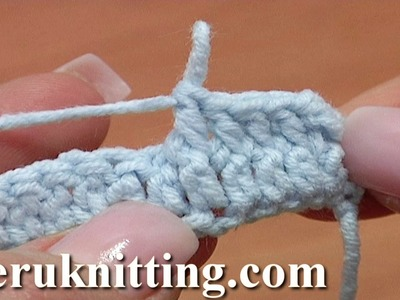 How to Front Post Double Crochet FPdc Tutorial 35 Crochet Basics for Beginners