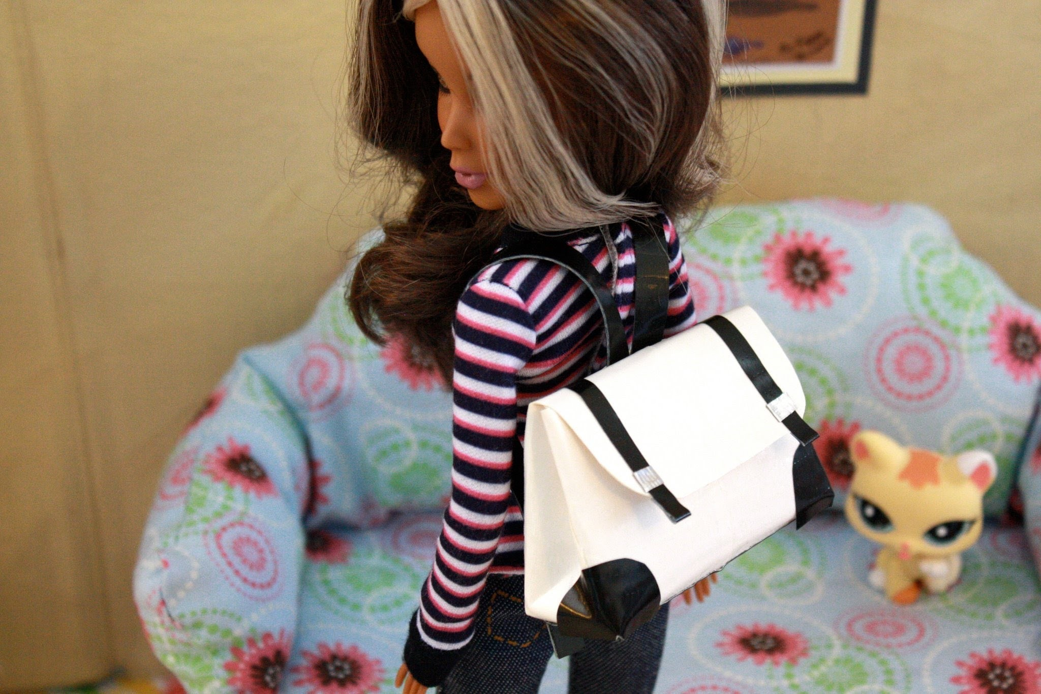 How to Make a Doll Backpack - Doll Crafts