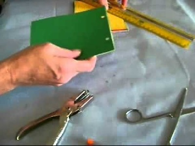 How to make a Memo Pad from Construction Paper