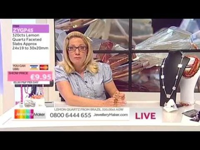 'How to Make Chip and Nugget Jewellery': JewelleryMaker LIVE 9.07.2014