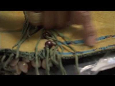 Jeri Ah-be-hill, mother of Teri Greeves, talks about Kiowa's mens leggings