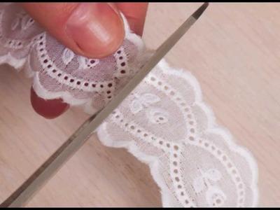 Lace Chandelier DIY