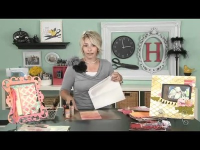 My Craft Channel: Create to Remember Heidi Swapp Glimmer Mist Techiques