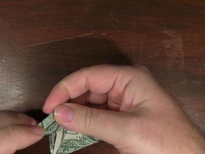 Origami Elephant with a US dollar bill