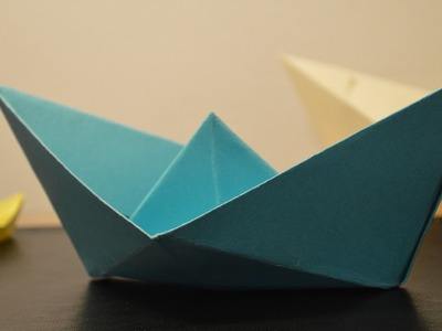 Origami: How to Make a Paper Boat