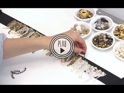 P.S.- I made this. Embellished Belt