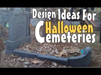 Spooktacular DIY Halloween Decoration Ideas & Inspirations: Moving Graves & Creepy Fence Props
