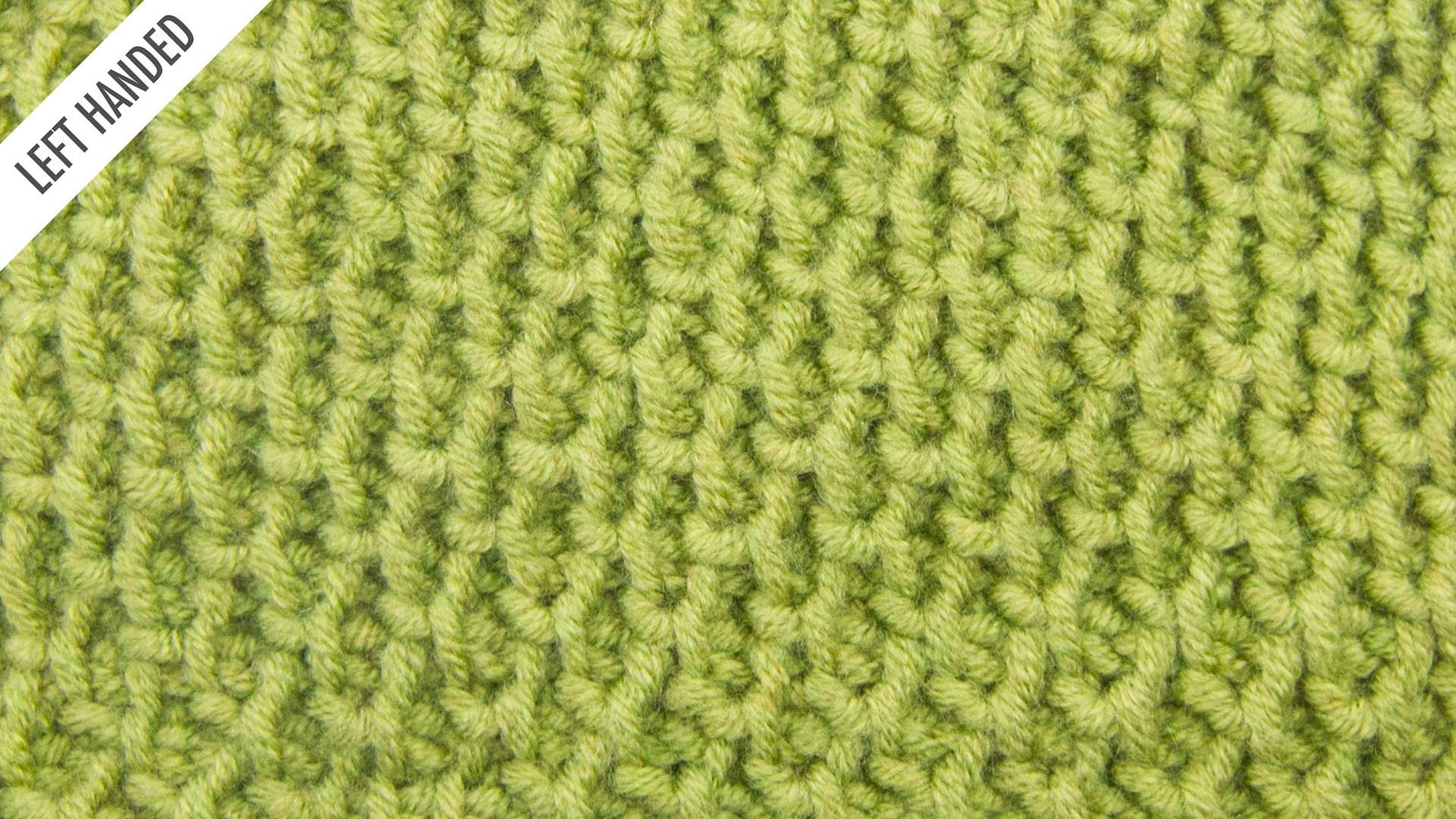 The Tire Tread Stitch:: Tunisian Crochet Stitch #11 :: Left Handed, My ...