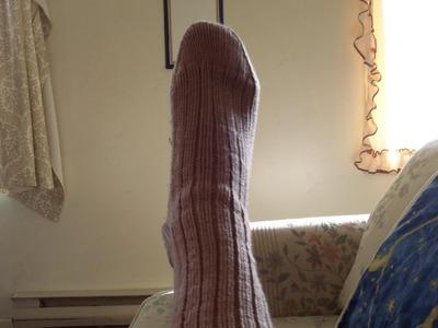 10 year old socks.