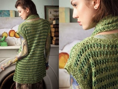 #5 Lace Texture Top, Vogue Knitting Spring.Summer 2012