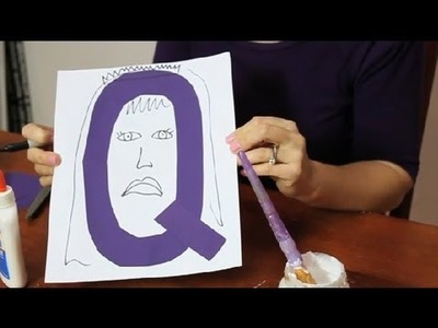 Craft Idea for Teaching the Letter Q to Preschoolers : Fun & Simple Crafts