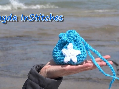 Crochet Along Beach Charm Bag - Crochet On The Run!