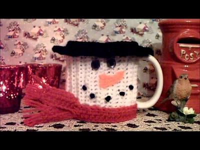 Crochet Christmas Mug Cozy