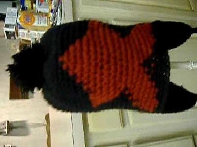 Crocheted Star Hat