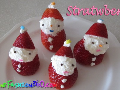DIY Food Strawberry Man - Fun Way to Eat Strawberry Kids Favorite - Food Arts