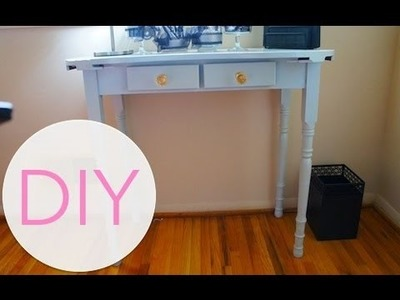 DIY Project: Small Writing Desk #2 (Quick Up Date)