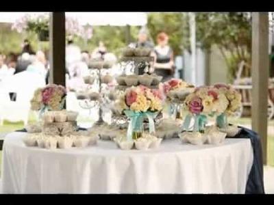DIY Shabby chic wedding ideas