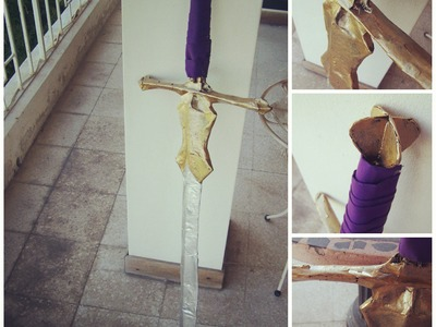 DIY Twilight Princess Zelda Cosplay: Sword Tutorial