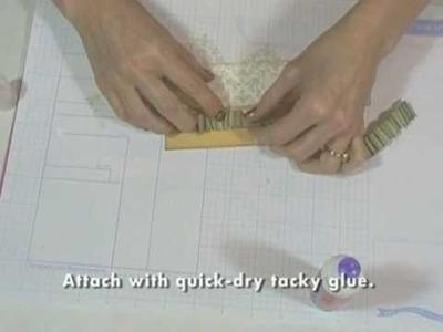 Fabulously Artsy -- Paper Ruffles (Mini Scrapbook part 3)