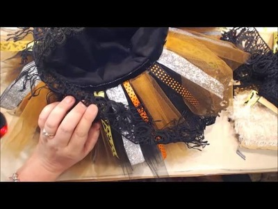 Halloween Basket Tutorial with a twist of Shabby Chic