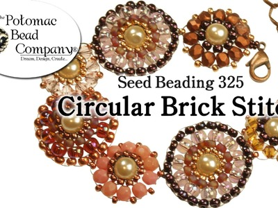 How to Circular Brick Stitch