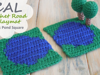 How to Crochet a Pond - CAL Ep2 Part 1 Road Play Mat