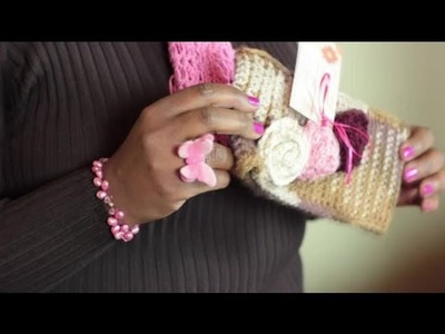 How to Crochet a Thick Winter Headband : Crochet Stitches