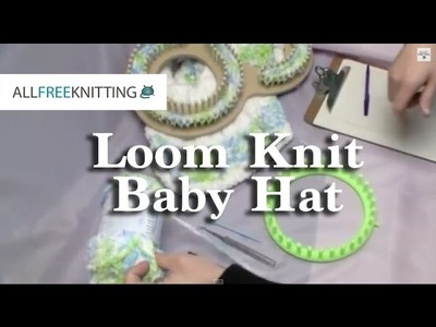 How To Loom Knit Baby Hat